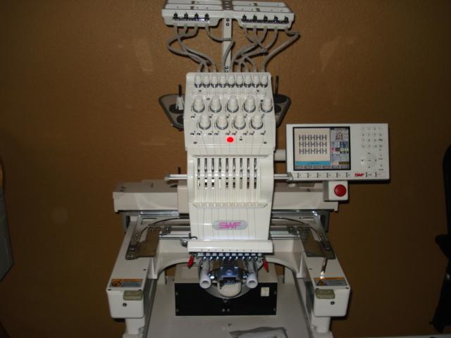 2006 Swf E T901c Single Head 9 Needle Commercial