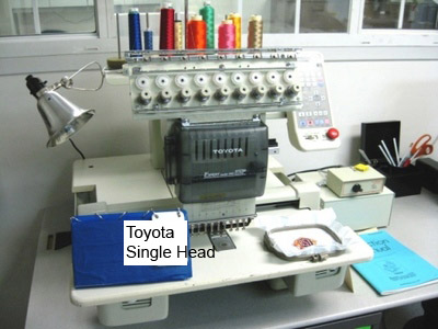 toyota expert 830 embroidery machine