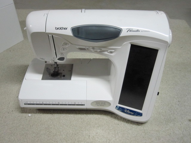 pacesetter 8500 embroidery machine