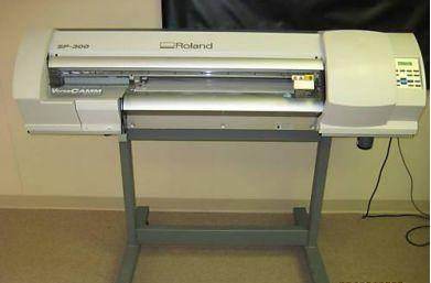 Roland Sp-300 Versacamm 30'' Color Printer Cutter plotter
