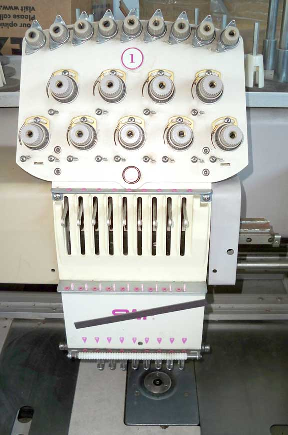 Swf 12 Head Embroidery Machine