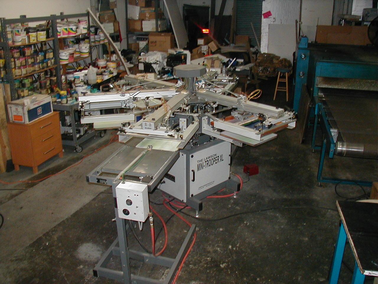 2005 Lawson Mini Trooper Xl Automatic Press