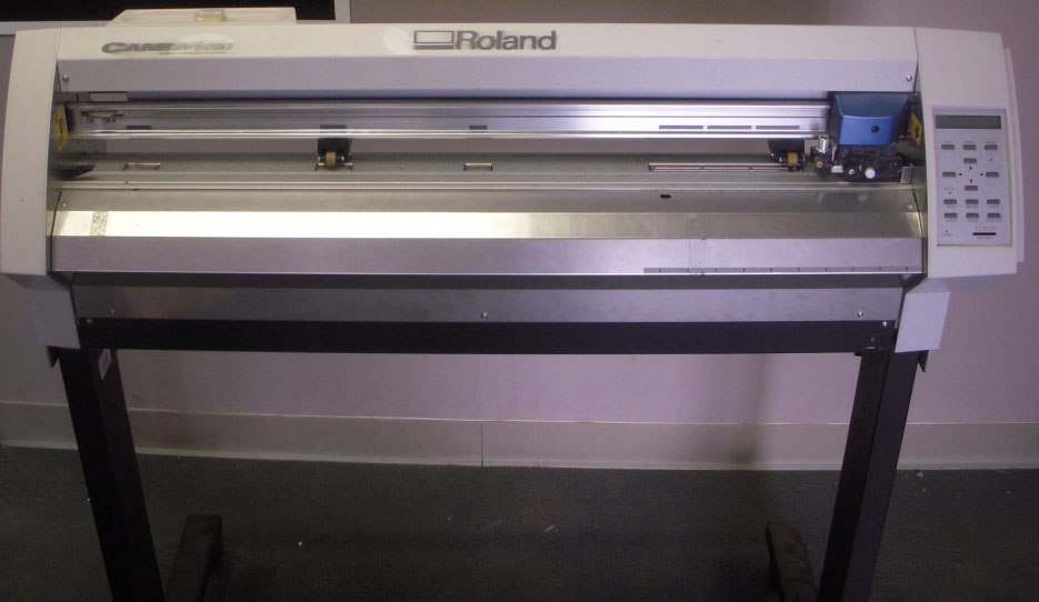 Roland Gx 300 Cutter 38 Rolls Of Vinyl Computer Hat