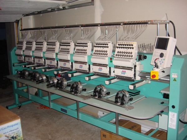 Used Embroidery Machines For Sale >> Tajima embroidery machine for sale