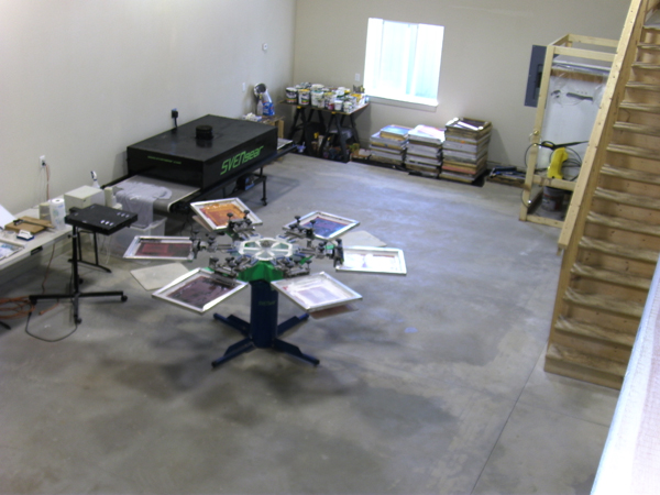 Screen Printing Equipment For Sale Riley Hopkins 6 4