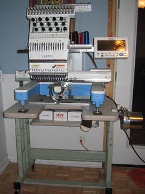 happy embroidery machine for sale