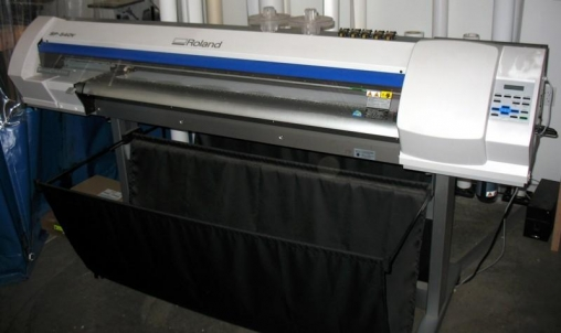 11 500 Roland Sp 540 Full Color Printer Cutter