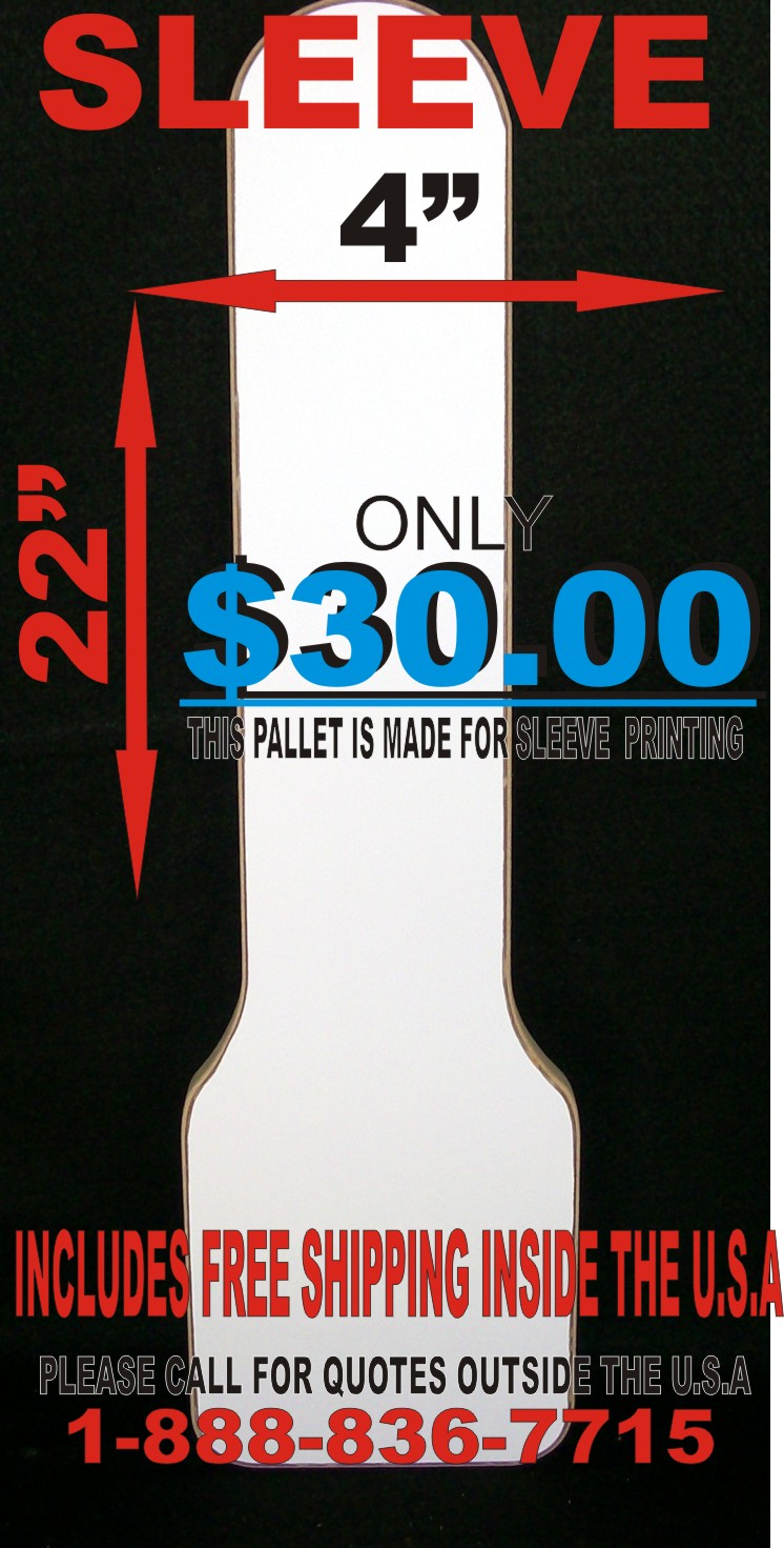 Screen Printing Pallets Platens T Shirts Boards