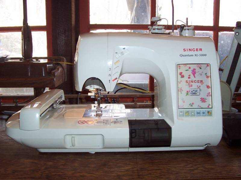 Singer Quantum Xl 5000 Sewing And Embroidery Machine 2100