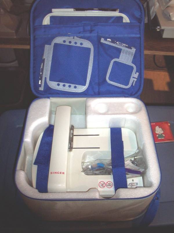 Used Embroidery Machines For Sale >> Singer Quantum XL-5000 Sewing and Embroidery Machine 2100$