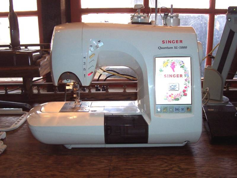 Sewing Planet - Singer Quantum